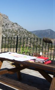 writing retreat Spain