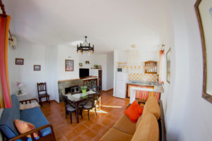 Inside an apartment at retreat venue Spain