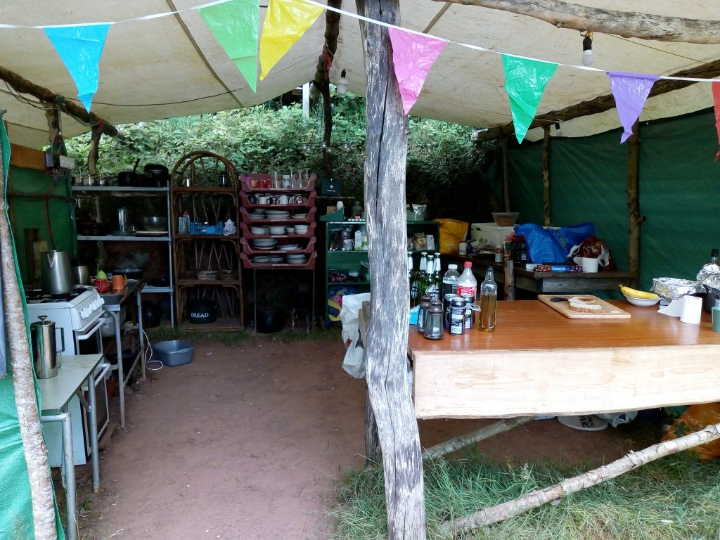 eco camping kitchen