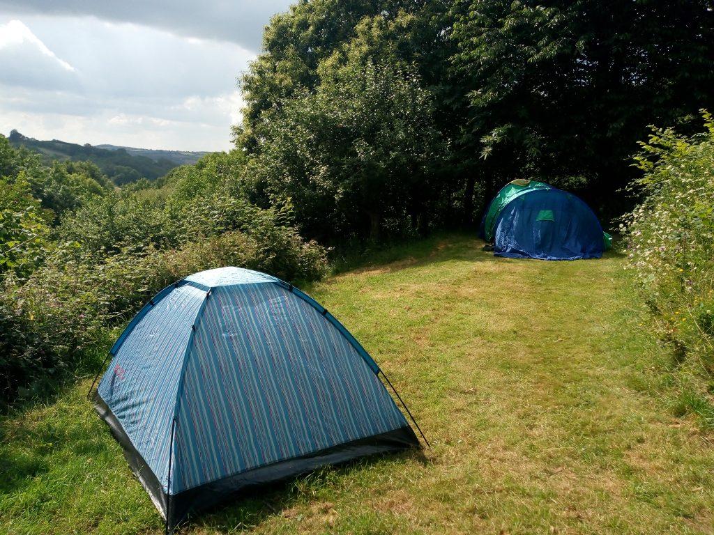 Camping Devon