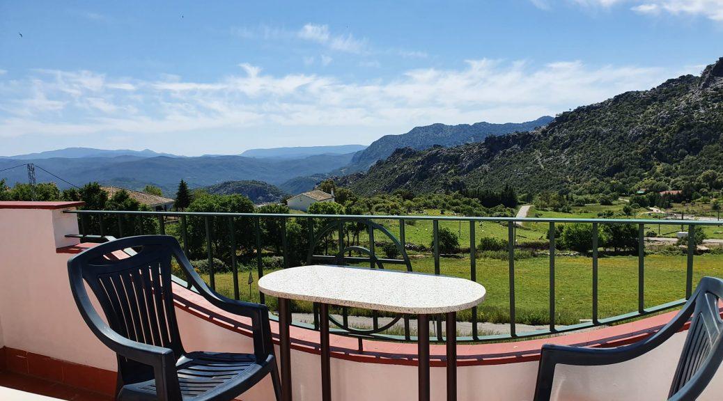 Retreat venue Spain balcony
